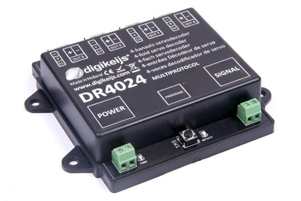 Digikeijs DR4024 - 4x Servodecoder