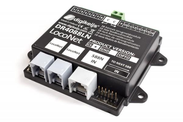Digikeijs DR4088LN-CS - 16x Loconet-Rückmelder