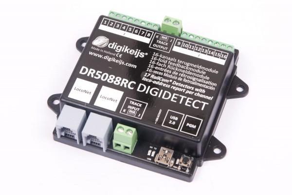 Digikeijs DR5088RC - 16x Railcom-Rückmelder